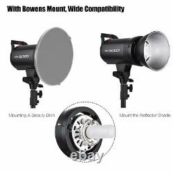 Godox Sk300ii 300w 2.4g Temps Rycle De 5600k Flash Studio Strobe Light Head