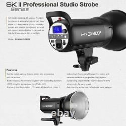 Godox Sk300ii 300ws Studio Flash Stroboscopique Lampe Frontale Pour La Photographie De Mariage