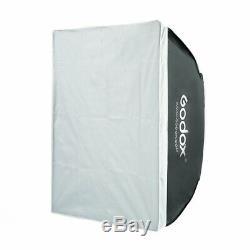 Godox Sk300ii De 2.4g Sans Fil Studio Flash Stroboscopique + Porte + Grange + 2 M Softbox Support
