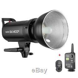 Godox Sk400ii 2.4g Photography Studio Flash Stroboscopique Éclairage + Ft-16 Trigger
