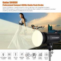 Godox Sk400ii 400w Sans Fil 2.4g X System Studio Flash Strobe Light Head 220v