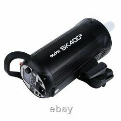 Godox Sk400ii Studio Strobe 400ws 5600k Monolight Studio Flash Avec Support De Lumière