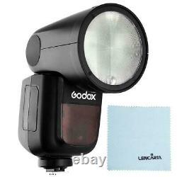Godox V1 Olympus Round Head Studio Flash Portable Ttl Hss Speedlight Strobe