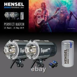 Hensel Idéal Kit Mit 2x Expert D 500 + Assistant Strobe + Kit Toujours Prêt Par