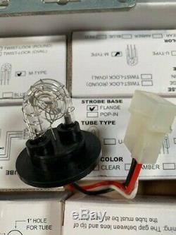 Hide Away Stroboscope 6 Led Hid Avertissement D'urgence Ampoules Flash Kit Nouveau Jeu De 6
