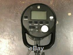Interfit S1a Hss Ttl 500w Studio Portable Strobe Monolight Avec Softbox, Trépied