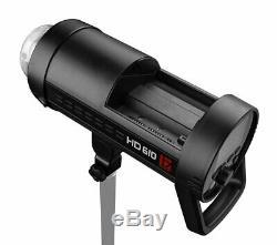 Jinbei Hd-610 600w Ttl Hss Li-ion Rechargeable Extérieure Strobe Flash Pour Canon Nikon