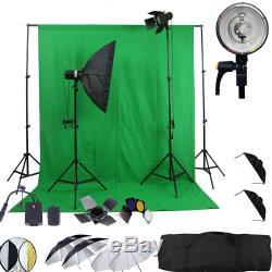 Kit De Stroboscope Sans Fil Umbrella Studio Light Background Dslr Nik Canon