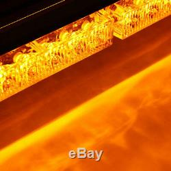 Lampe Stroboscopiques D'urgence Voiture Travail Light Bar 54 Led Avertissement Lumière.ensemble