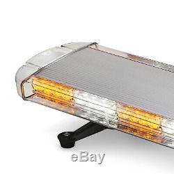 Led Orange Récupération Lumière Barre Gyrophare De Véhicules Utilitaires Légers Strobes 1067 12-24