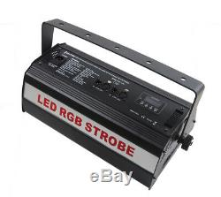 Led Strobe, Strobe Atomique, Rgb 3in1,1000w Lumière Clignotante, Flashbulb, Stroboscopique