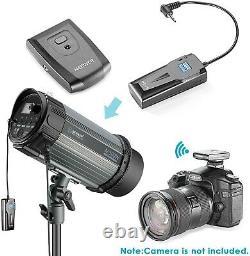 Neewer 600w Photo Studio Strobe Flash Light Softbox Kit Éclairage (2) 300w