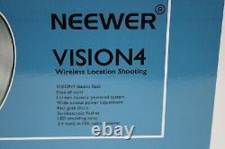 Neewer Vision 4 Outdoor Studio Flash Strobe Kit Avec Parapluie Blanc & Softbox