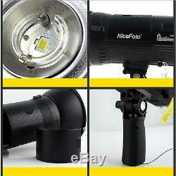 Nicefoto Nflash 480a Alimenté Par Batterie Haute Vitesse Studio Stroboscope