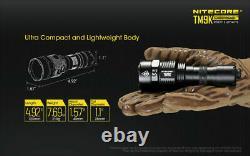 Nitecore Tm9k 9500 Lumen Usb-c Torches De Lampe De Poche Tactique Rechargeable