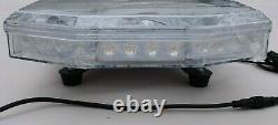 Nouveau 12/24v 88led Amber Flashing Beacon Light Bar 120cm Recovery Warning Strobe
