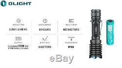 Olight Guerrier X Pro 2250 Lumen Lampe De Poche Avec Lumentac Kit De Montage