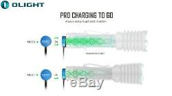 Olight Guerrier X Pro 2250 Lumen Lampe De Poche Tactique 2x Piles + Lumentac Case