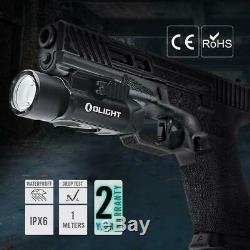 Olight Pl Pro Valkyrie 1500 Lumen Rechargeable Pistolet Lampe De Poche (desert Tan)