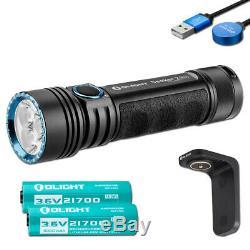 Olight Seeker 2 Pro 3200 Lumen Lampe De Poche Rechargeable Avec 2 Piles Et Chargeur