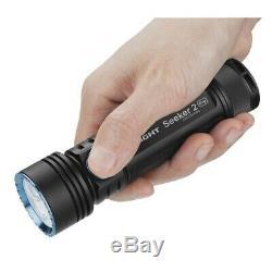 Olight Seeker 2 Pro 3200 Lumen Rechargeable Lampe De Poche Led Avec Batterie Et Chargeur
