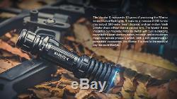 Olight Warrior X 2000 LM Tactique Lampe De Poche Avec Pression Interrupteur Magnétique Et Montage