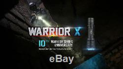Olight Warrior X 2000 Lumen Tactique Lampe De Poche Avec 2 Piles Rechargeables