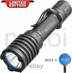 Olight Warrior X Pro 2250 Lumen Rechargeable Lampe De Poche Gun Metal Gray Limited