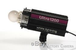 Paul Buff White Lightning Ultra 1200 Flash Studio Strobe Monolight (9122-1)