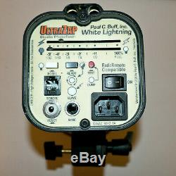 Paul C. Buff Blanc-lighting Ultrazap 1600 Studio De Lumière Stroboscopique