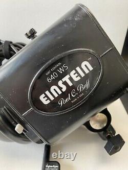 Paul C. Buff Einstein 640 Ws Studio Strobe Light Avec Cybersync + Accessoires
