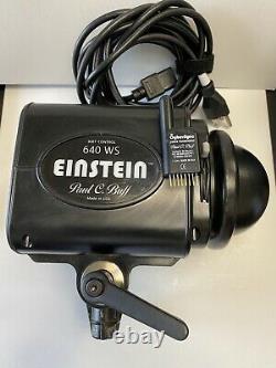 Paul C. Buff Einstein 640 Ws Studio Strobe Light With Cybersync Set + Ac Cord