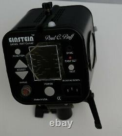 Paul C Buff Einstein E640 Studio Stroboscopes 100-250v Ac