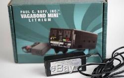 Paul C Buff Vagabond Mini Batterie Au Lithium-120v Ac Pack Withcharger