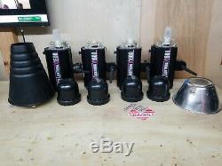 Paul C Buff White Lightning X1600 Strobe Flash Light (lot De 4)