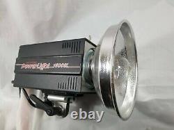 Photogénique Powerlight 1500sl Puissant Studio Strobe Mono-light Fonctionne Très Bien