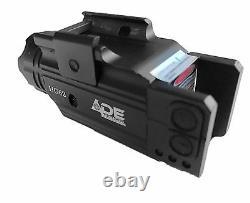 Pistolet Strobe Green Laser+lampe De Poche Walter Pk380 CC 40 XDM 3.8 Glock S&w 17 19