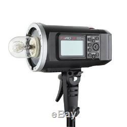 Portable Flash Extérieure Strobe Pentax Fuji Nikon Canon Sony Ad600bttl Lighting