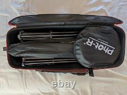 Portrait Portable Studio Kit Avec Godox Sk300 Sk400 Godox Strobe Heads Lumière