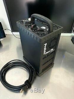 Profoto Pro-7a Pro 7 2400 Éclairage Stroboscopique Pack Flash Générateur 8a 10 Aiguë