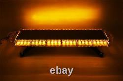 Raptor 4x4 Amber Recovery Light Bar 56 Led 56w Flash Strobe
