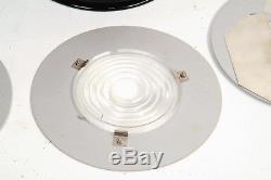 Rare Speedotron Black Line Can Spot Fresnel Flash Zoom Spot Light + Accessoires