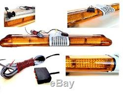 Récupération Led Light Bar 1200 MM 12v Gyrophare Camion Léger Strobes Ambre 47