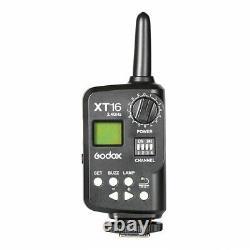 Royaume-uni Godox Sk400ii 400w 220v Camera Studio Flash Strobe Lamp Light+xt-16 Trigger