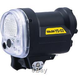Sea & Sea Ys-03 Set Système D'éclairage Universel Strobe Plongée Sous-marine Lumière Flash