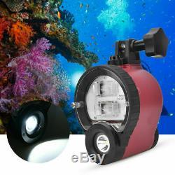 Seafrogs St-100 Pro Étanche Lampe De Poche Sous-marine Plongée Strobe Fit Pour Sony