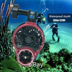 Seafrogs St-100 Usb Pro Sous-marine Étanche Flash Light Plongée Stroboscope CL