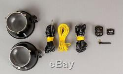 Set Complet 3 X Bowens Gemini 500r Studio Strobes Avec Pulsar Trigger