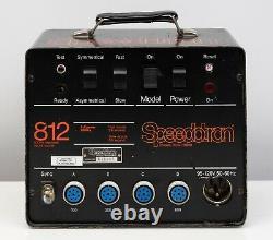 Speedotron 812 Power Pack & 2 102 Têtes Stroboscopiques Flash