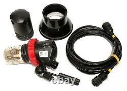 Speedotron Black Line 202vf Studio Strobe Flash 2400 Avec 7 Réflecteurs Et Câble De 20'
